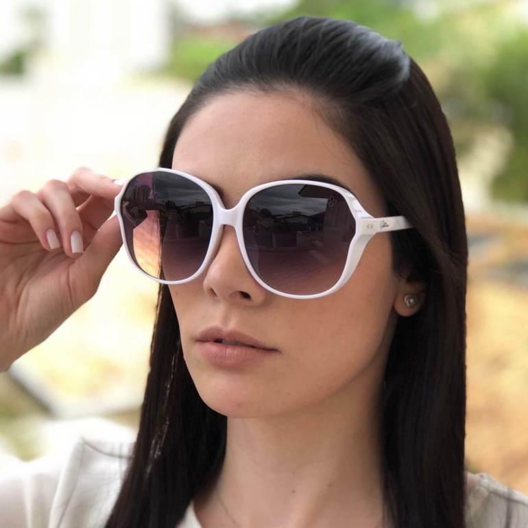 Óculos de Sol Bru Branco