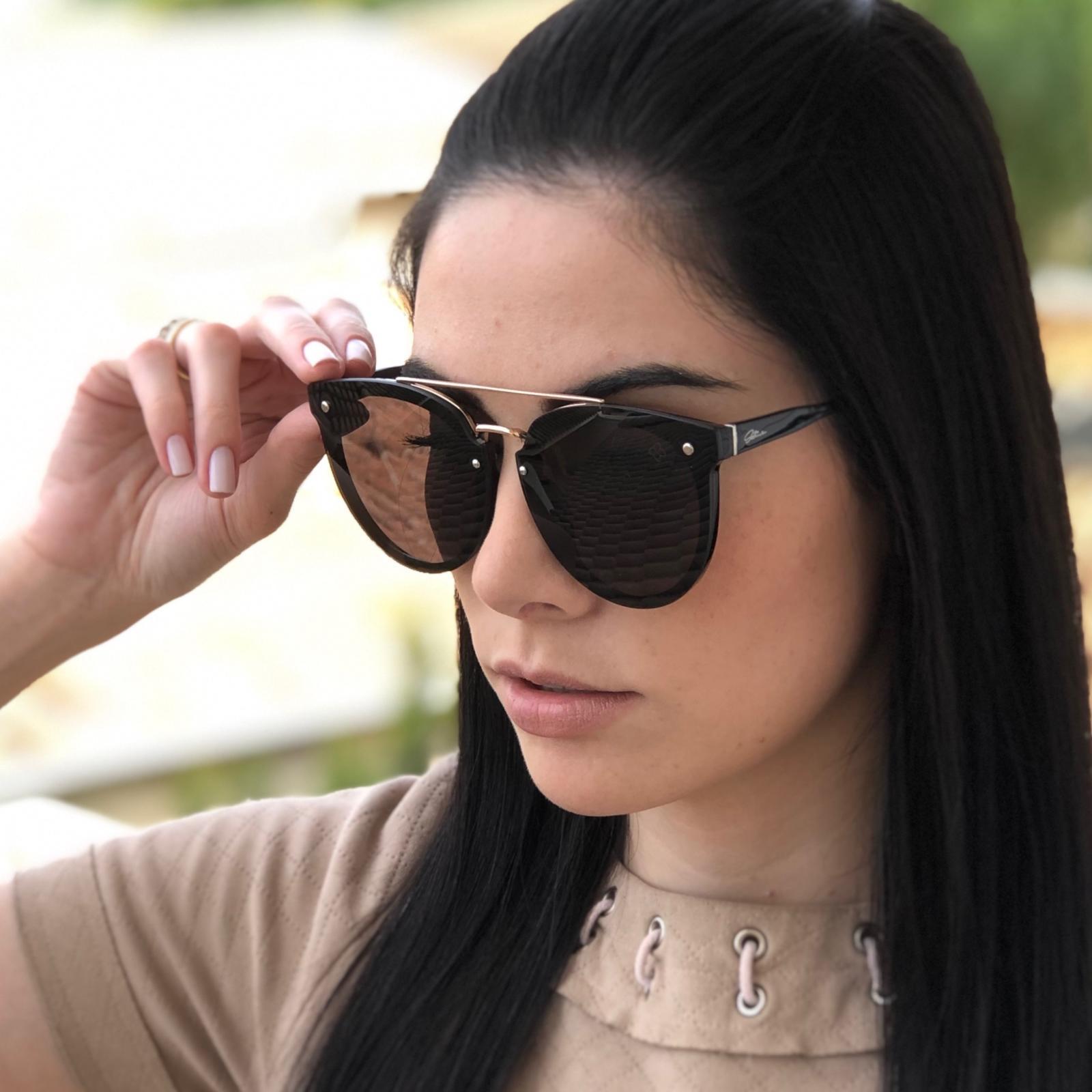 Óculos de Sol Jade Preto - Safine