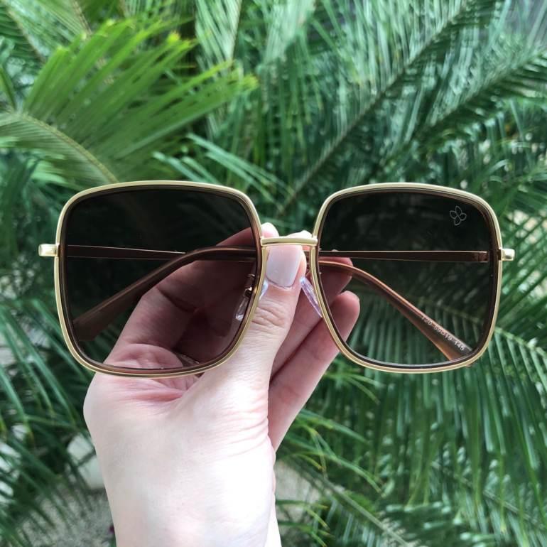 Óculos de Sol Monica 2.0 Preto - Safine