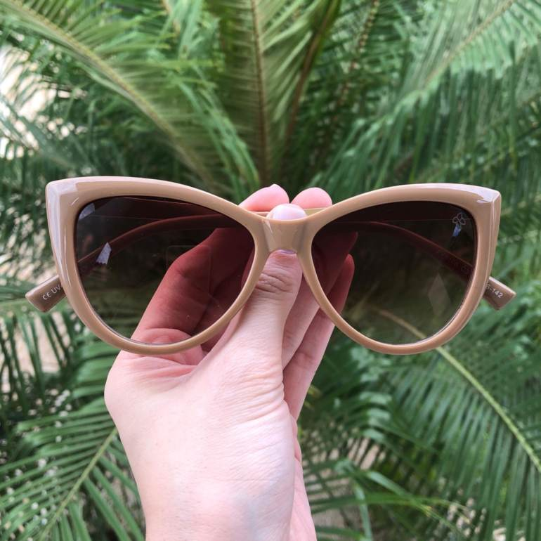 Óculos de Sol Cat 2.0 Nude - Safine