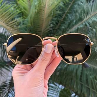 saline.com.br oculos de sol elisa 3 0 dourado
