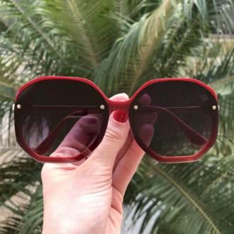 saline.com.br oculos de sol jana vermelho