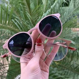 saline.com.br oculos 2 em 1 redondo rose janine