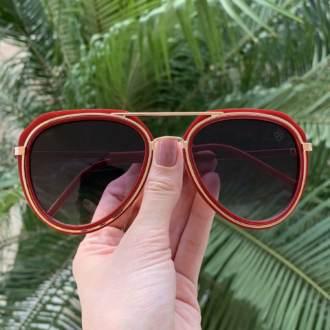 saline.com.br oculos de sol ruth vermelho