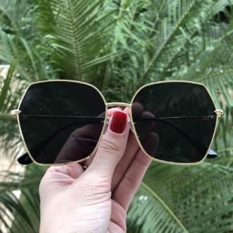 saline.com.br oculos de sol jhuli dourado com preto 3