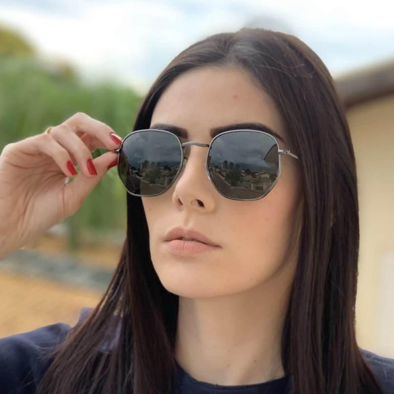 saline.com.br oculos de sol hexagonal polarizado verde 2