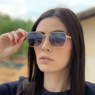 saline.com.br oculos de sol quadrado isis dourado 1
