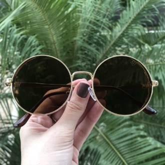 saline.com.br oculos de sol redondo floripa marrom