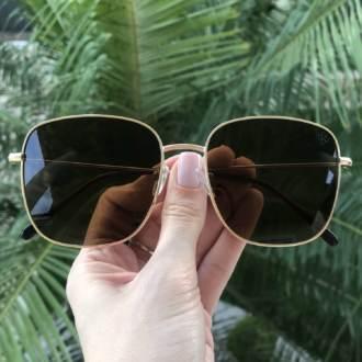 saline.com.br oculos de sol quadrado cecilia marrom