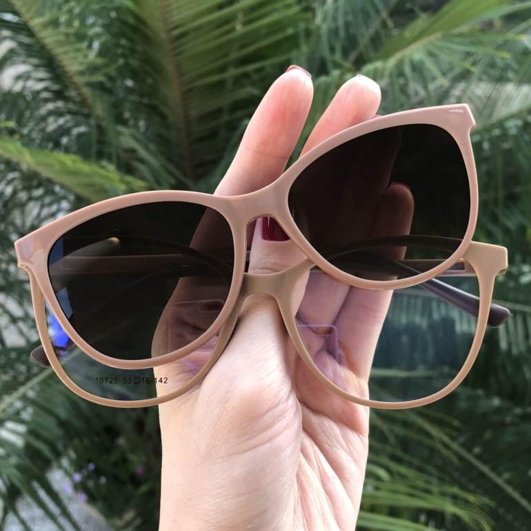 saline.com.br oculos de grau 2 em 1 gatinho new nude 3