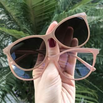 saline.com.br oculos de grau 2 em 1 gatinho new rosa