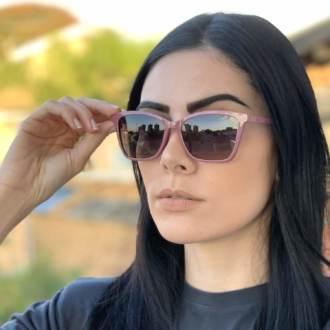 saline.com.br oculos de grau 2 em 1 gatinho vivi
