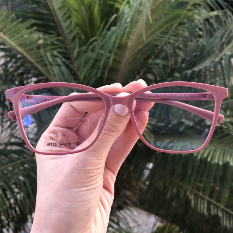 saline.com.br oculos de grau 2 em 1 gatinho vivi rosa 1