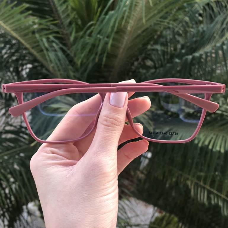 saline.com.br oculos de grau 2 em 1 gatinho vivi rosa 2