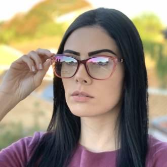 saline.com.br oculos de grau gatinho vinho com transparente manu 3