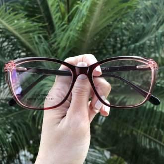 saline.com.br oculos de grau gatinho vinho com transparente manu