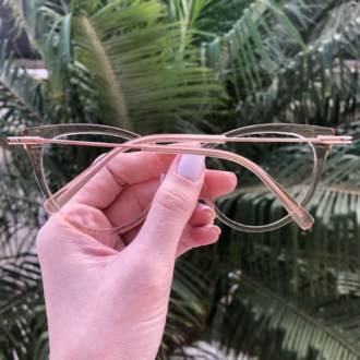 safine com br oculos de grau gatinho dourado transparente katy 1