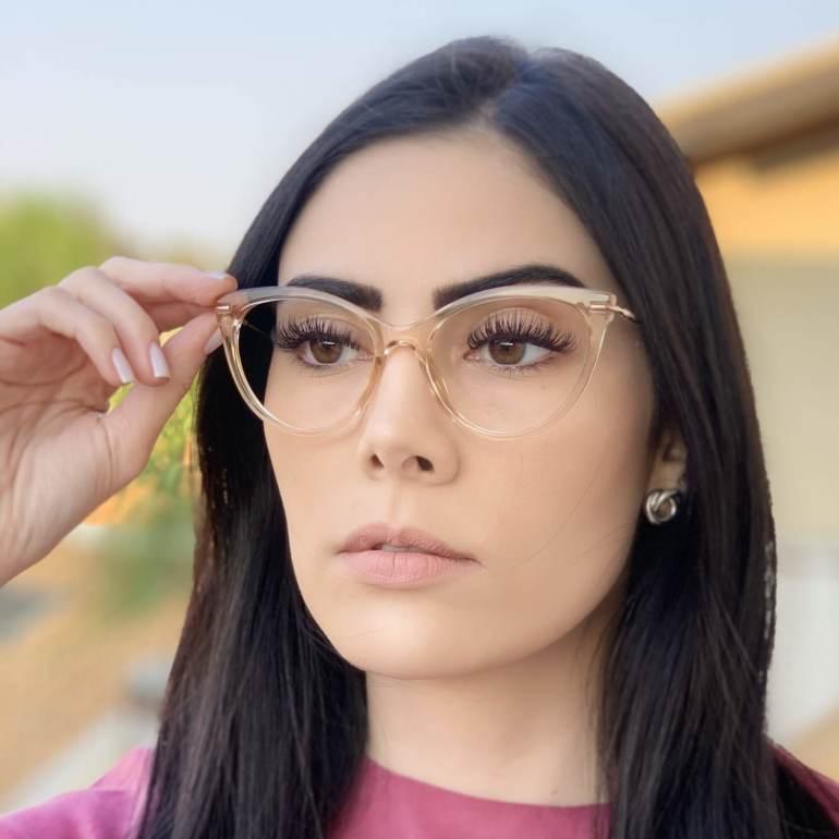 safine com br oculos de grau gatinho dourado transparente katy 3