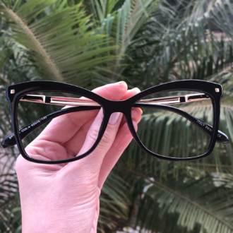 safine com br oculos de grau quadrado preto luma