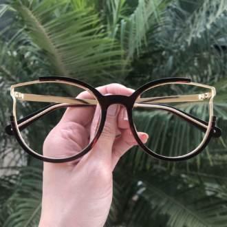 safine com br oculos de grau redondo marrom ariana 3
