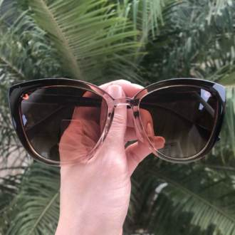 safine com br oculos de sol gatinho marrom com transparente paty 3