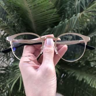saline.com.br oculos de grau redondo dourado janine 1