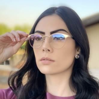 saline.com.br oculos de grau redondo dourado janine 4