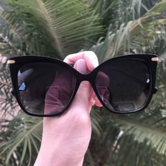 saline.com.br oculos de sol gatinho preto com degrade gil 3
