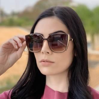 saline.com.br oculos de sol quadrado marrom com nude anita 1