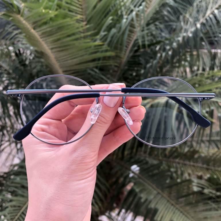 safine com br oculos 2 em 1 redondo azul lolo 2