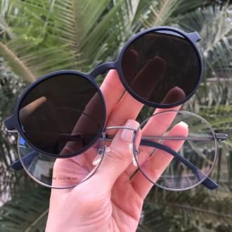safine com br oculos 2 em 1 redondo azul lolo