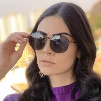 safine com br oculos 2 em 1 redondo marrom com rose lolo 4