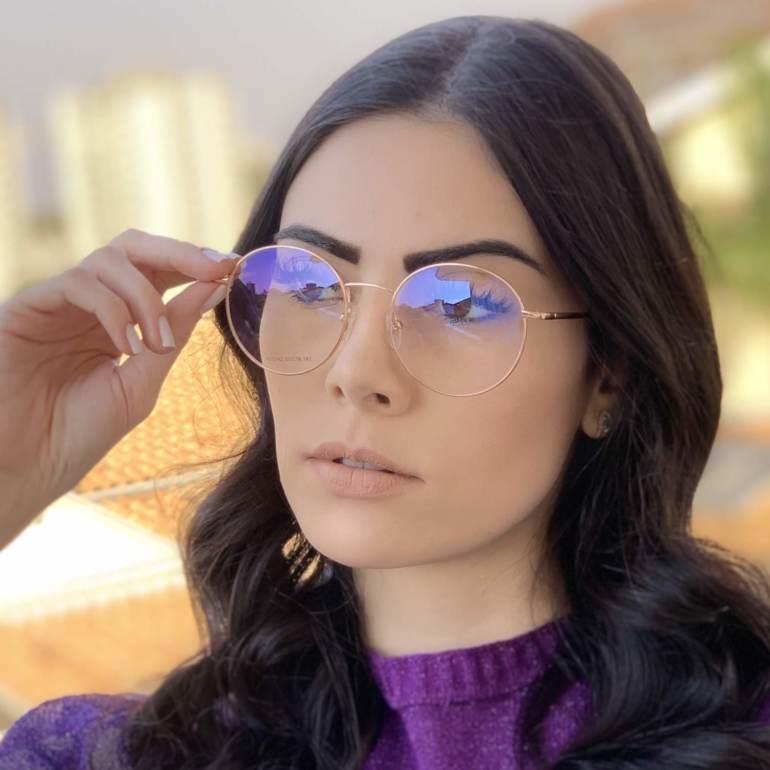 safine com br oculos 2 em 1 redondo marrom com rose lolo 5