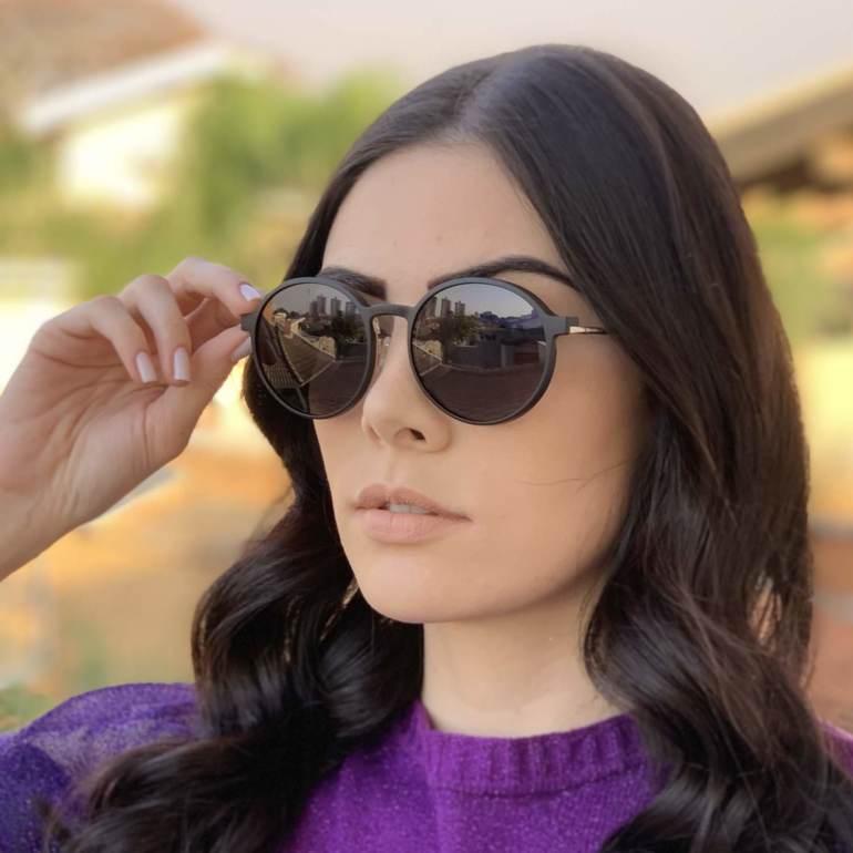 safine com br oculos 2 em 1 redondo preto com prata lolo 1