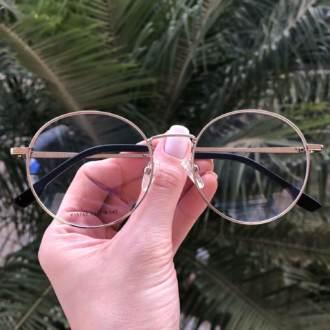 safine com br oculos 2 em 1 redondo preto com prata lolo 4