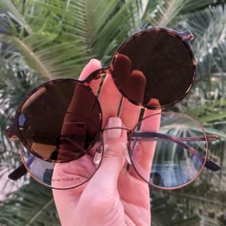 safine com br oculos 2 em 1 redondo tartaruga lolo