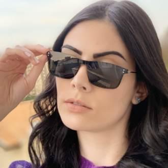 safine com br oculos 2 em 1 retangular preto fosco new 3