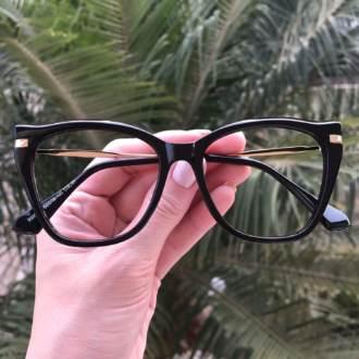 safine com br oculos de grau gatinho preto bela