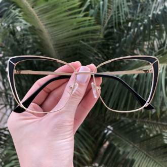 safine com br oculos de grau gatinho preto cami
