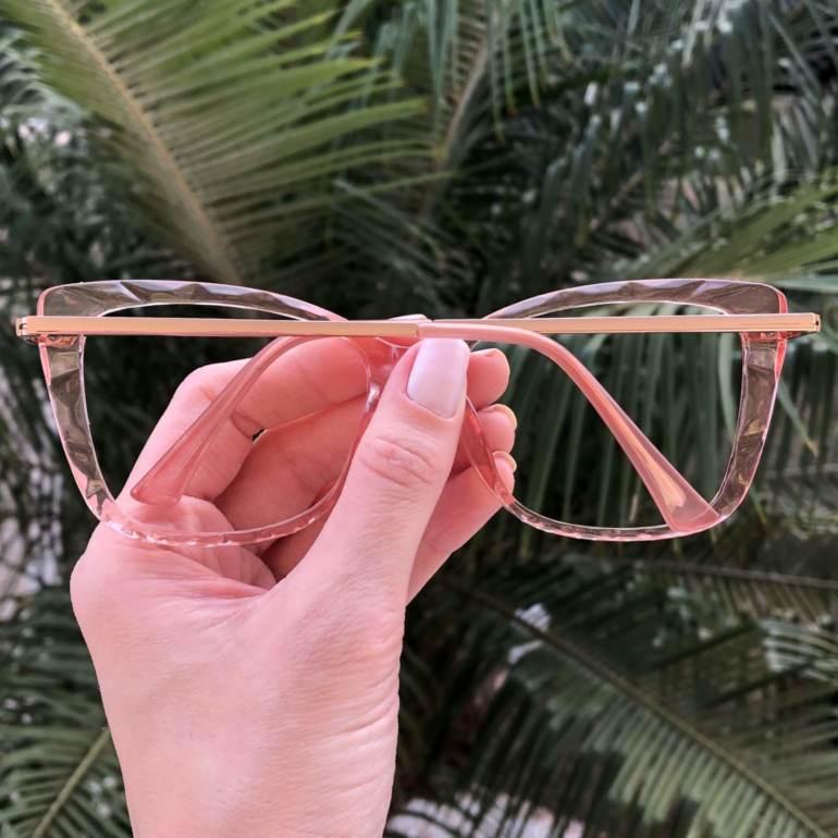 safine com br oculos de grau gatinho rosa pri 1