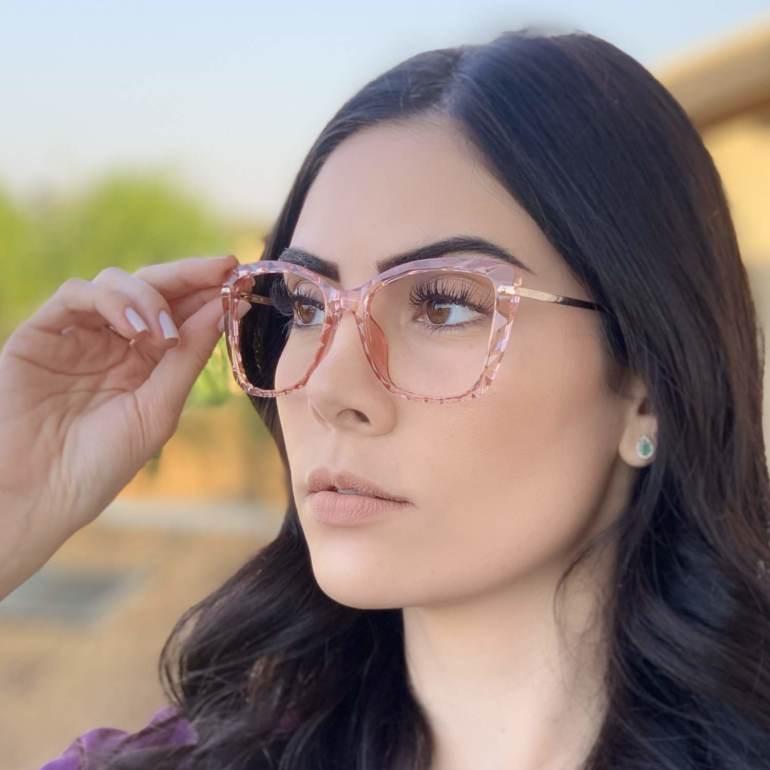 safine com br oculos de grau gatinho rosa pri 2