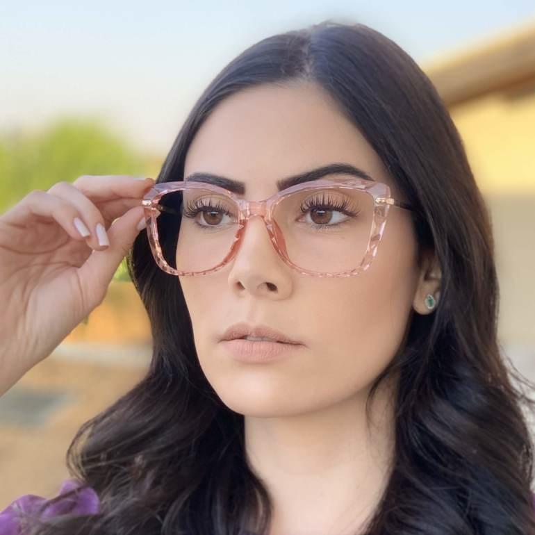 safine com br oculos de grau gatinho rosa pri 3