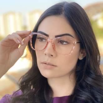 safine com br oculos de grau gatinho rosa pri 4