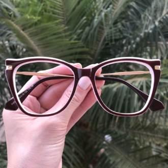 safine com br oculos de grau gatinho vinho com branco
