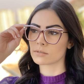 safine com br oculos de grau gatinho vinho com branco 4
