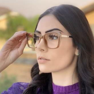 safine com br oculos de grau quadrado caramelo sue 2