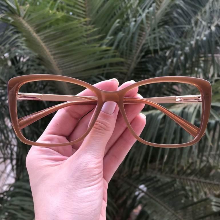 safine com br oculos de grau quadrado caramelo sue