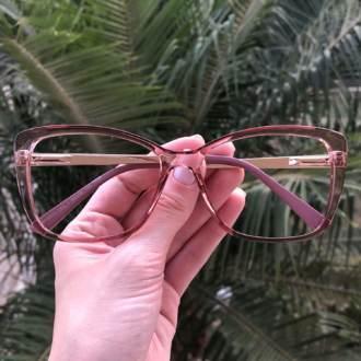 safine com br oculos de grau quadrado rosa sue