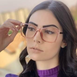 safine com br oculos de grau quadrado rosa sue 4