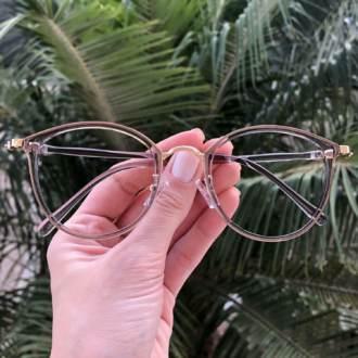 safine com br oculos de grau redondo cinza bru